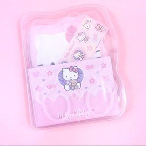 Y2K Sanrio Hello Kitty Diecut Letter Set Kawaii